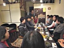 茶民カフェde下澤いづみさんお話会